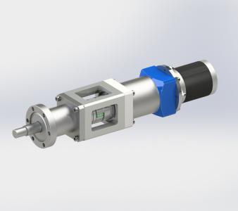 Ввод вращения, магнитожидкостный электропривод